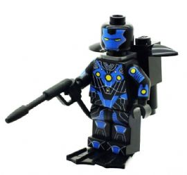 Ironman (Iron Man Atmospheric Diving Armour) - Custom Designed Minifigure